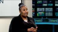 Bail refused for Myles LitchmoreDunbar ENGLAND London GIR INT Denise Litchmore LIVE STUDIO interview SOT