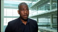 Suspect's family try to clear his name ENGLAND London GIR INT Andrew Litchmore interview SOT
