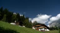Tyroleans Farmhouse beneath Wilder Kaiser
