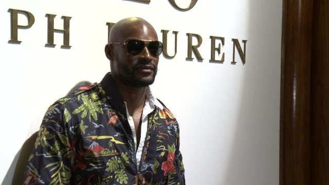 Tyson Beckford at Models at Polo Ralph Lauren S/S 2016 NYFW Mens Presentation at TBD on July 16 2015 in New York City