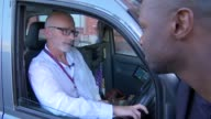 Uber loses licence to operate in London INT CAR Uber driver in car Traffic along INT CAR Charles Higgins interview as driving taxi SOT EXT Charles...