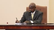 Ugandan President Yoweri Museveni on Monday signed a controversial law that will see homosexuals jailed for life and dismissed warnings from key...
