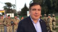 Ukraine has turned back former Georgian president Mikheil Saakashvili as he tried to cross into the country from Poland to reclaim his citizenship...