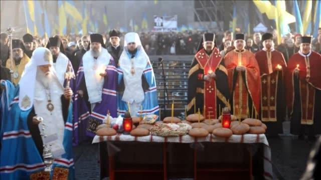 Ukraine marked 80 years since the Stalinera famine CLEAN Ukraine marks 80 years since the on November 23 2013 in Kiev Ukraine