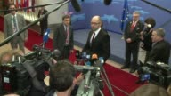 Ukraines interim prime minister Arseniy Yatsenyuk put his country firmly in the Western camp Friday signing the political provisions of a landmark...