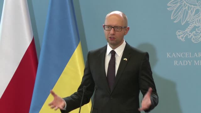 Ukraine's Prime Minister Arseni Iatseniouk visited Warsaw on Wednesday and warned that any illegally organised election in east Ukraine would signify...