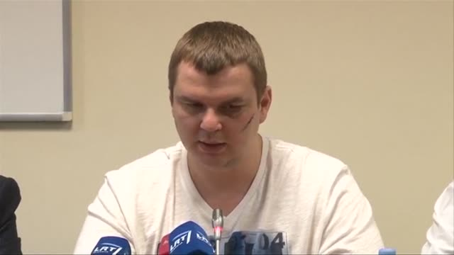 A Ukrainian activist who left the country after he was abducted says his Russianspeaking captors tortured him and forced him to say he was an...