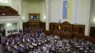 Ukrainian Prime Minister Arseniy Yatsenyuk survives a no confidence vote hours after the President asked him to resign because he had lost the...