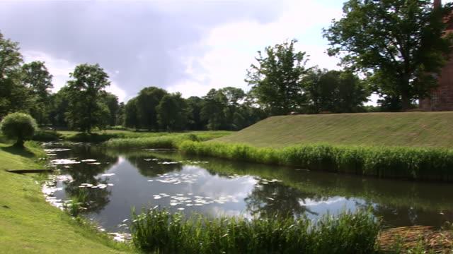 WS PAN Ulrichshusen castle near by lake / Waren, Mecklenburg-Western Pomerania, Germany