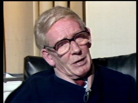 Enniskillen IRA bomb NORTHERN IRELAND Ulster Enniskillen Gordon Wilson's Home INTVW SOF CS Ditto ''How are you ill will' Erne Hospital EXT TGV Erne...