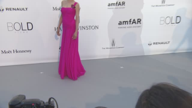 Uma Thurman at amfAR's 23rd Cinema Against AIDS Gala Arrivals at Hotel du CapEdenRoc on May 19 2016 in Cap d'Antibes France