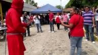 Limpiar pecados a latigazos on April 03 2012 in Texistepeque El Salvador