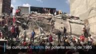 Un potente sismo de 71 grados sacudio el martes a Mexico provocando muerte y destruccion