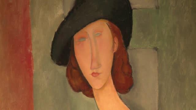 Un retrato pintado por Amedeo Modigliani de su musa y amante Jeanne Hebuterne sera el plato fuerte de la primera subasta importante del ano para la...