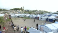 MS Un shelter tents for population / Haiti