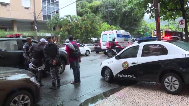 Una espanola fallecio el lunes despues que la policia de Rio de Janeiro disparo contra el vehiculo en el que se encontraba en la favela de Rocinha...