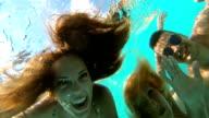 Onderwater plezier.