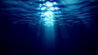Unterwasser-Strahlen