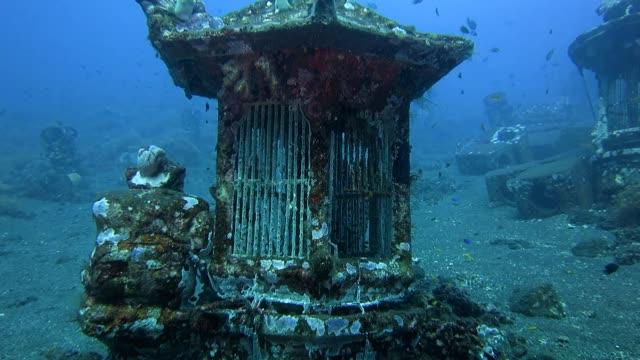 Unterwasser-Tempel