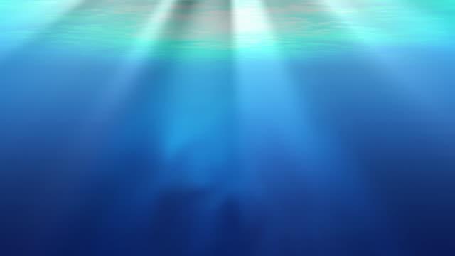 Unterwasser mit Licht