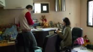 Unemployment rate has skyrocketed in Greece ever since the debt crisis hit the country in 2009 CLEAN Greek family falls on December 10 2012 in...