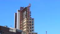 HD unversäuberten High-Rise Gebäude zoomin_1 (1080/24P