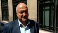 Boris Johnson interview Bob Crowe interview SOT on fact that only twenty nine per cent of drivers have voted to strike have to accept democracy and...