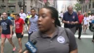Union members marched up Fifth Avenue Saturday to celebrate Labor Day Public Advocate Letitia James said she hopes the state gives New York City the...