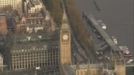 Unions call for NHS pay rise DATE Houses of Parliament and Big Ben clock Tower