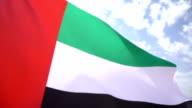 United Arab Emirates Flag High Detail