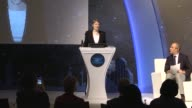 """United Nations Development Programme Administrator Helen Clark delivers a speech at 2017 UNDP Istanbul Development Dialogues """"Riskinformed and..."""