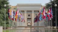 Vereinten Nationen in Genf, Flaggen-HD & PAL
