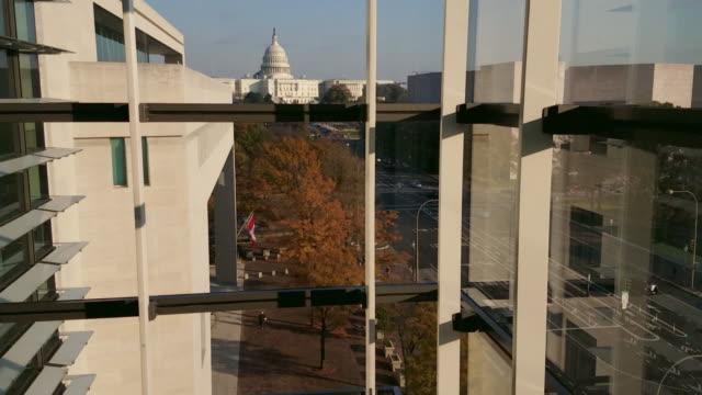 United States Capitol and Pennsylvania Avenue in Washington, DC - 4k/UHD