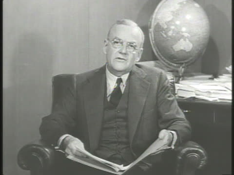 United States diplomat John Foster Dulles talking about relationship between United States Asia combating Communism equal fellowship common freedoms...