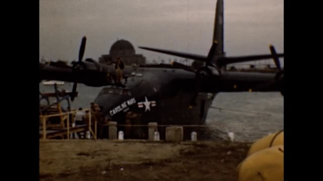 1953 United States Navy Martin JRM Mars Seaplane