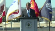 United States Secretary of Defense Ash Carter Visits San Diego Naval Station Carter honors service members Carter speaks of progress in Asia Pacific...