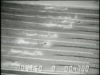 United States swimmer Mark Spitz wins the 100 meter freestyle at the 1972 Summer Olympic Games in Munich Germany