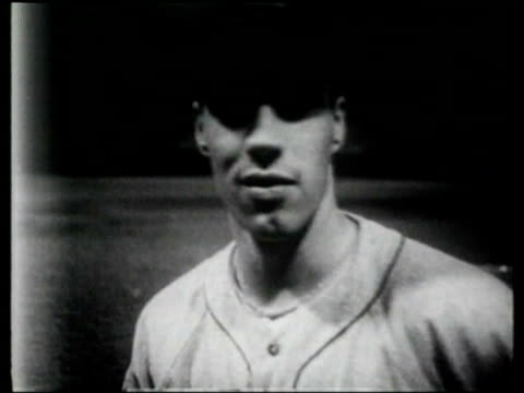 Cleveland Indian's pitcher Bob Feller throws fast balls and beats the world record