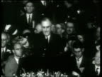 Franklin Roosevelt accepts the presidential nomination at the Democratic Party convention in Philadelphia