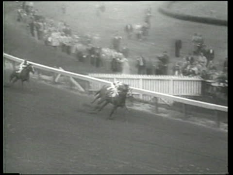 Hill Prince and other horses race during the 1950 season