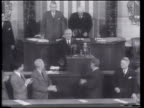 In his State of the Union message US President Truman explains the need for an armaments agreement with the Soviets
