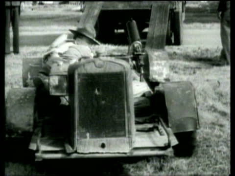 The US Army tests a novel vehicle a motorized knee level machine gun carrier