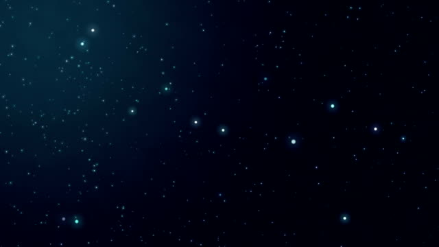 Universo e volante stelle