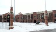 University of Colorado Boulder wide exterior winter shot