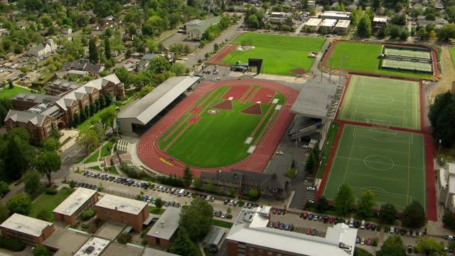 WS AERIAL DS University of Oregon Hayward Field / Oregon, United States
