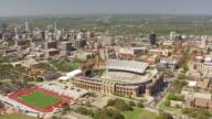 WS AERIAL University of Texas Memorial Stadium / Austin, Texas, United States