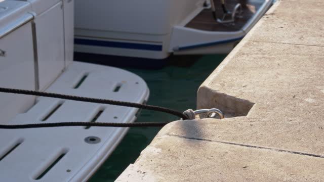 SLO MO Unmooring the boat