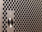 CU, Unrecognizable person pressing computer power button, close-up of finger