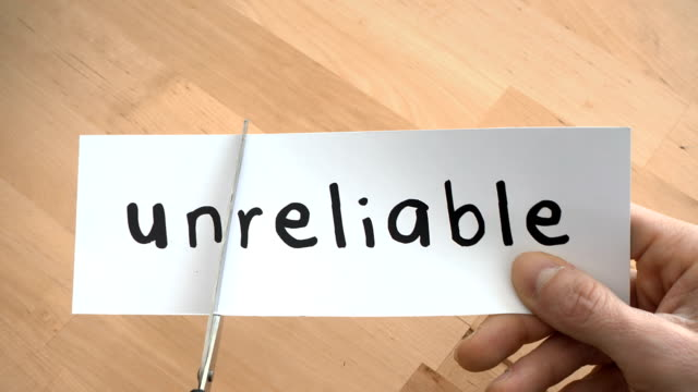 Unreliable To Reliable By Scissors
