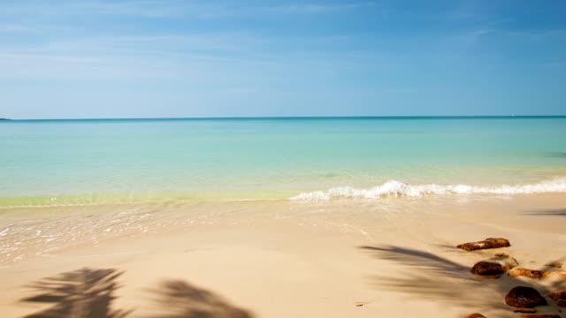 Unberührte Strand